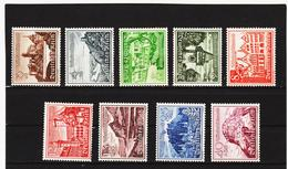 RAD38 DEUTSCHES REICH 1939  MICHL 730/38 ** Postfrisch ZÄHNUNG Siehe ABBILDUNG - Deutschland