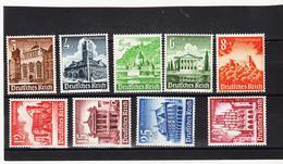 RAD44 DEUTSCHES REICH 1940  MICHL 751/59 ** Postfrisch ZÄHNUNG Siehe ABBILDUNG - Deutschland