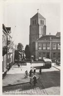 Tiel, Gymnasium, R.K. Kerk; Autobus Velox, Bus, Levendig Straatbeeld - Tiel