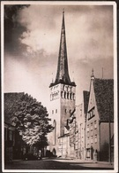 Estonie Tallinn Rue Lai 1956 - Estonie