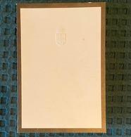 Cartão Luto Morte D.DUARTE NUNO Duque De Bragança. Mourning Card Death Claimant Portuguese Throne PORTUGAL 1976 - Familles Royales