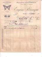 HUILERIES & SAVONNERIE Café Verts & Torréfiés-EUGENE PARANQUE  SALON DE PROVENCE  1922  COURRIER - 1900 – 1949