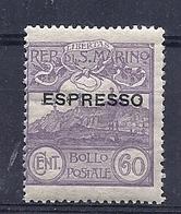 190032589  S. MARINO  YVERT    T.P.LP.E.  Nº  2  **/MNH - Colis Postaux