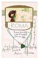 Raphaël Kirchner  Roma   CPA Dos Non Divisé A Voyagé En 1902  Ed Theo Stroefer Série 220 N°4 - Kirchner, Raphael
