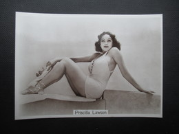 REAL PHOTO - PIN UP (V2004) PRISCILLA LAWSON (2 Vues) N°16 BEAUTIES OF TO-DAY Fourth Series - Phillips / BDV