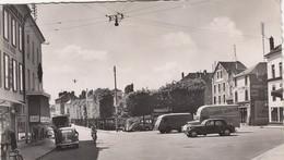 CORBEIL-LA PLACE DU MARCHE-CARTOLINA VERA FOTOGRAFIA- VIAGGIATA IL 22-1-1957 - Corbeil Essonnes