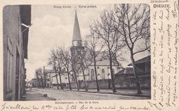 DIEUZE(57)1919-rue De La Gare-église Protestante - Dieuze
