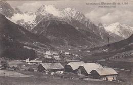 MEZZAVALLE-BOZEN-BOLZANO-VAL PUSTERIA-CARTOLINA VERA FOTOGRAFIA- VIAGGIATA IL 30-6-1955(PRODUZIONE 1920-1930 - Bolzano (Bozen)