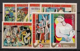 Guinée  équatoriale - 1975 - N°Mi. 514 à 520 - Picasso - Neuf Luxe ** / MNH / Postfrisch - Guinée Equatoriale