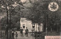 ! Alte Ansichtskarte Malmedy, Inselquelle, Ponhon De Malmedy, 1914 Feldpost - Malmedy