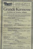 Aviation - Meeting Hydravions - Vevey -1913 - Rarissime - Publicités