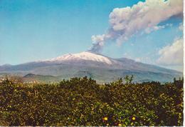 ETNA - ESPLOSIONE DELL'ETNA - ORE 9:20 DEL 7 APRILE 1964 - NON VIAGGIATA - Italia