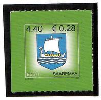 Estonia 2007 . COA Of Saaremaa. 1v: 4.40, S/adh.  Michel  # 575 - Estonie