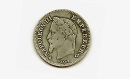 20c Napoleon III Argent 1866 BB Très Belle - E. 20 Centimes