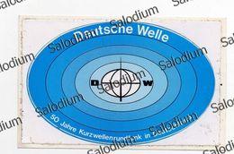Deutsche Welle - KOLN Colonia - Radio Redio - ThIS IS A STICKER - This Is Not A Card - Radio
