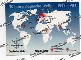 Deutsche Welle - KOLN Colonia - Radio Redio - Antigua Sines Kijali Malta Wertachtal Julich Sri Lanka - Radio