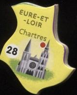 MAGNET EURE-ET-LOIRE CHARTRES N° 28 - Magnets