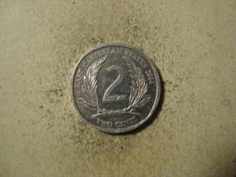 MONNAIE CARAIBES ORIENTALES 2 CENTS 2004 - Territoires Britanniques Des Caraïbes