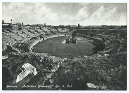 SIRACUSA/SYRACUSE (Italie) - Anfiteatro Romano / Amphithéâtre Romain (1er Sec. D. Cr.) -CPSM N&B -Scan Recto-Verso - Siracusa