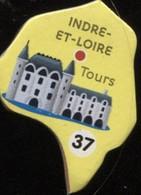 MAGNET INDRE-ET-LOIRE TOURS N° 37 - Magnets