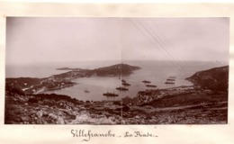 VILLEFRANCHE SUR MER  C.1900 Photo La Rade - Luoghi