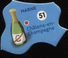 MAGNET MARNE CHATILLONS-EN-CHAMPAGNE N° 51 - Magnets