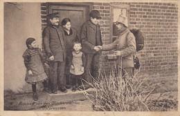 AK Abschied Von Den Quartierswirten In Ostpreußen - Ostpreußenhilfe - Feldpost 1917 (48079) - Guerre 1914-18