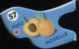 MAGNET METZ MOSELLE N° 57 - Magnets