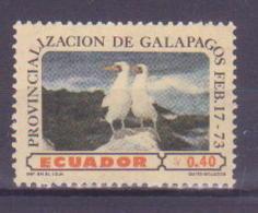 74-006 / ECUADOR - 1973  BIRDS  Unused ** - Nicaragua