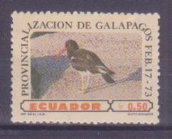 74-007 / ECUADOR - 1973  BIRDS  Unused ** - Nicaragua