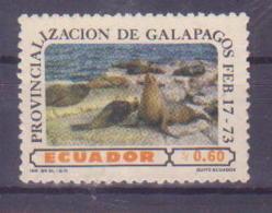 74-008 / ECUADOR - 1973  BIRDS  Unused ** - Nicaragua