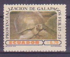 74-009 / ECUADOR - 1973  BIRDS  Unused ** - Ecuador