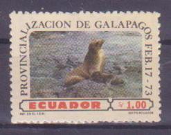 74-010 / ECUADOR - 1973  BIRDS  Unused ** - Ecuador