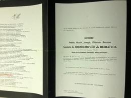 De Brouchoven De Bergeyck époux D'Oultremont Christiane 40-45 *1918 Folkstone +1959 Ixelles Beveren-waas De Timary - Décès