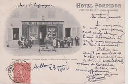 66 - PRATS DE MOLLO - STATION D'HIVER - CURES D'AIR EN TOUTES SAISONS - HOTEL POMPIDOR - France