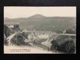 39 - Environs De SAINT CLAUDE - Pont Du Chemin De Fer à Molinges - 379 - Saint Claude