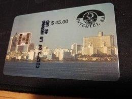 CUBA $45,00 FIRST /PRIMERA EMISSION  CHIPCARD   Fine Used Card  ** 402** - Kuba