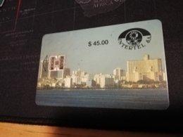 CUBA $45,00 FIRST /PRIMERA EMISSION  CHIPCARD   Fine Used Card  ** 403** - Kuba