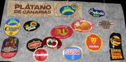 LOT DE ETIQUETTES DE FRUITS   - SPAIN - Fruits Et Légumes