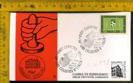 Repubblica Annullo Speciale Carpegna Pesaro Ciclismo - 1971-80: Marcophilia