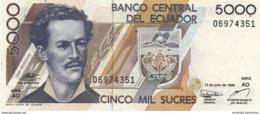 ECUADOR 5000 SUCRES 1999 P-128c UNC [EC128c] - Ecuador