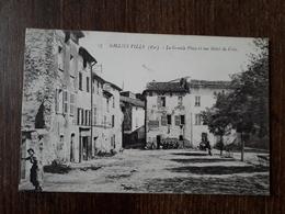 L27/181  SOLLIES VILLE . La Grande Place Et Rue Hotel De Ville - Sollies Pont