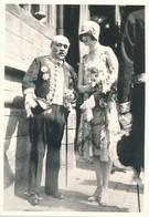 Argentique Mons 8 Juillet 1928 Reine Astrid Famille Royale Belgique - Berühmtheiten