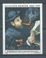 Monaco YT N°1789 Auguste Renoir Neuf ** - Monaco