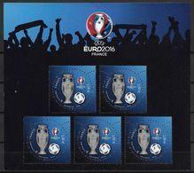 France 2015 Bloc Feuillet N° 137 Neuf Luxe. Footbal Championnat D'Europe UEFA - Blocks & Kleinbögen