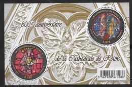 France 2011 Bloc Feuillet N° F4549 Neuf Cathédrale De Reims à La Faciale - Sheetlets