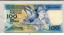 PORTUGAL 100 ESCUSOS 1987 CRISP UNC 2.75 - Portugal