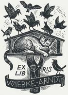 Ex Libris Wiebke Arndt - W. Richter - Ex-libris