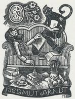 Ex Libris Helmut Arndt - W. Richter - Ex-libris