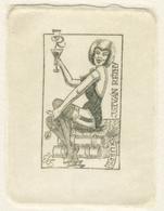 Ex Libris István Réthy - Eugen Schmidt (1910-1975) Ets - Ex-Libris
